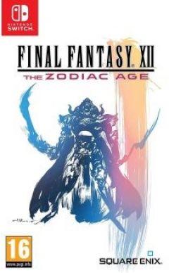 Jaquette de Final Fantasy XII : The Zodiac Age Nintendo Switch