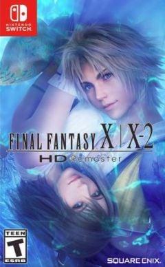 Jaquette de Final Fantasy X / X-2 HD Remaster Nintendo Switch