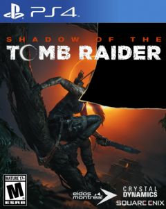 Jaquette de Shadow of the Tomb Raider : The Nightmare PS4