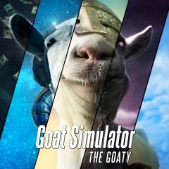 Jaquette de Goat Simulator : The GOATY Nintendo Switch