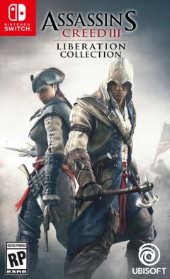 Jaquette de Assassin's Creed III : Liberation Collection Nintendo Switch