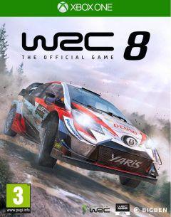 Jaquette de WRC 8 Xbox One