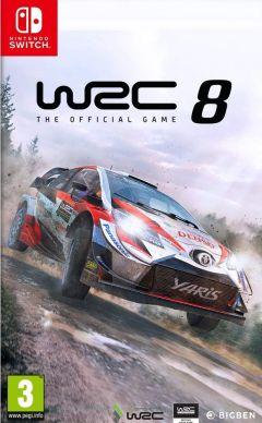 Jaquette de WRC 8 Nintendo Switch