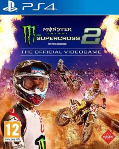 Jaquette de Monster Energy Supercross 2 PS4