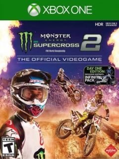Jaquette de Monster Energy Supercross 2 Xbox One