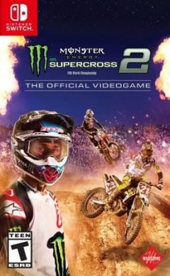 Jaquette de Monster Energy Supercross 2 Nintendo Switch