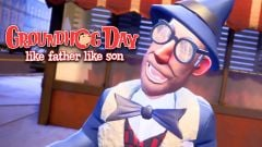 Jaquette de Groundhog Day : Like Father Like Son PlayStation VR