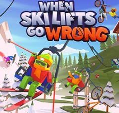 Jaquette de When Ski Lifts Go Wrong PC