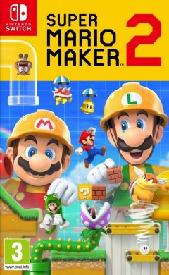 Jaquette de Super Mario Maker 2 Nintendo Switch
