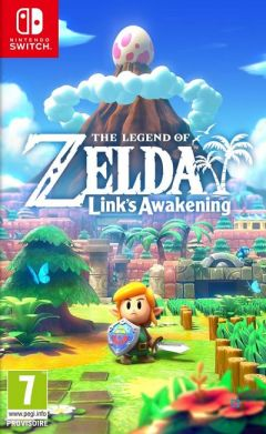 Jaquette de The Legend of Zelda : Link's Awakening Switch Nintendo Switch