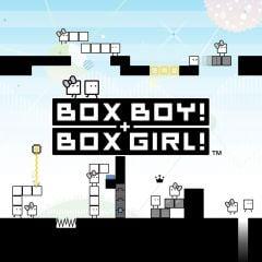 Jaquette de BOXBOY! + BOXGIRL! Nintendo Switch