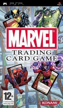 Jaquette de Marvel Trading Card Game PSP