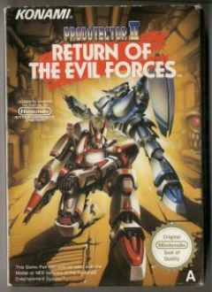 Jaquette de Probotector 2 : Return of the Evil Forces NES