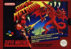 Jaquette de Super Metroid Super NES