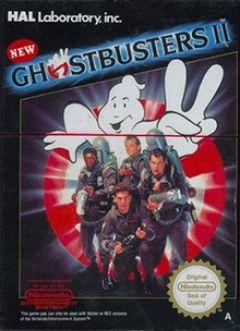 Jaquette de New Ghostbusters II NES