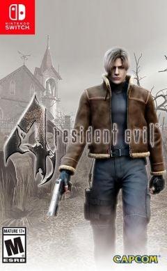 Jaquette de Resident Evil 4 Nintendo Switch