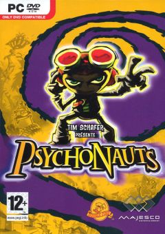 Jaquette de Psychonauts PC