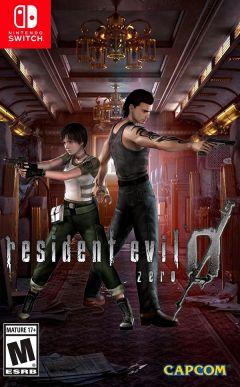 Jaquette de Resident Evil Zero Nintendo Switch