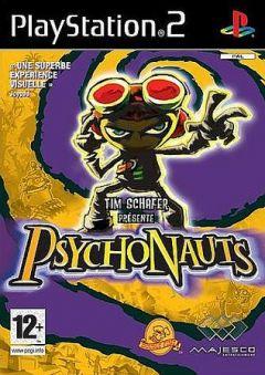 Jaquette de Psychonauts PlayStation 2