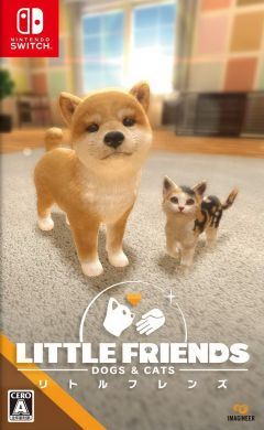 Jaquette de Little Friends : Dogs & Cats Nintendo Switch