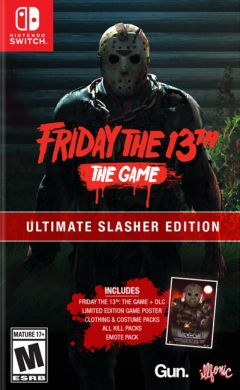 Jaquette de Friday the 13th : The Video Game Nintendo Switch