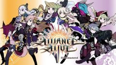 Jaquette de The Alliance Alive HD Remaster Nintendo Switch