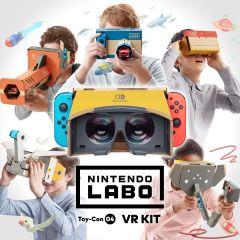 Jaquette de Nintendo Labo - ToyCon 04 : VR Kit Nintendo Switch