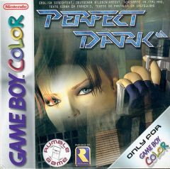 Jaquette de Perfect Dark Game Boy Color