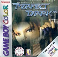 Jaquette de Perfect Dark Game Boy Color