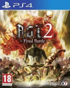 Jaquette de Attack on Titan 2 : Final Battle PS4