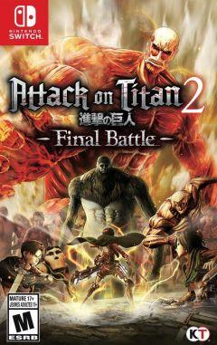 Jaquette de Attack on Titan 2 : Final Battle Nintendo Switch