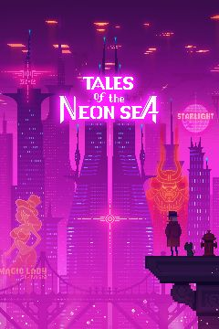 Jaquette de Tales of the Neon Sea PC