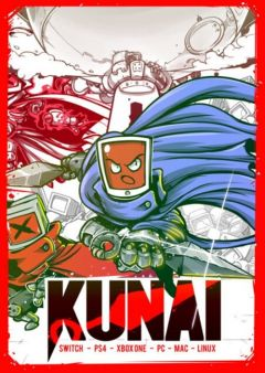 Jaquette de Kunai PC