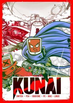 Jaquette de Kunai Nintendo Switch