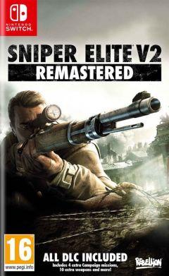Jaquette de Sniper Elite V2 Remastered Nintendo Switch