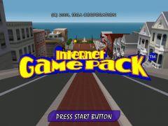 Jaquette de Internet Game Pack Dreamcast