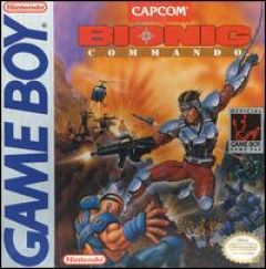 Jaquette de Bionic Commando (original) Game Boy