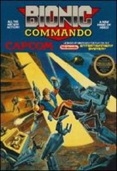 Jaquette de Bionic Commando (original) NES