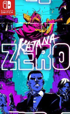 Jaquette de Katana ZERO Nintendo Switch