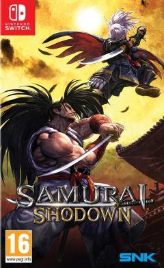 Jaquette de Samurai Shodown Nintendo Switch