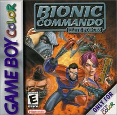 Jaquette de Bionic Commando : Elite Forces Game Boy Color