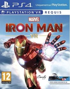 Jaquette de Marvel's Iron Man VR PlayStation VR