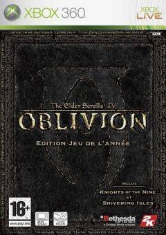 Jaquette de The Elder Scrolls IV : Oblivion - Edition Jeu de l'année Xbox 360