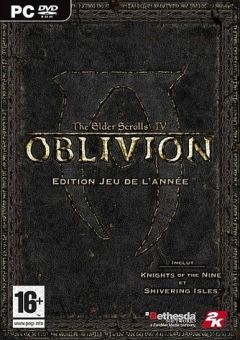 Jaquette de The Elder Scrolls IV : Oblivion - Edition Jeu de l'année PC