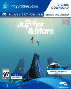 Jaquette de Jupiter & Mars PlayStation VR