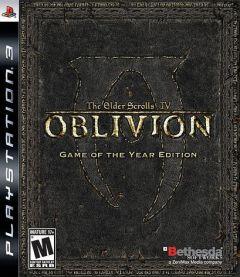 Jaquette de The Elder Scrolls IV : Oblivion - Edition Jeu de l'année PlayStation 3