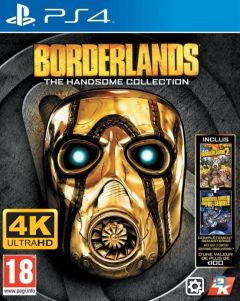 Jaquette de Borderlands : The Handsome Collection Ultra HD PS4