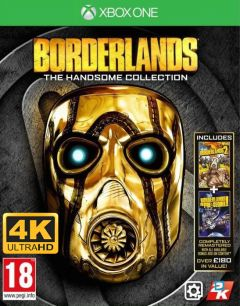 Jaquette de Borderlands : The Handsome Collection Ultra HD Xbox One