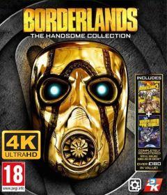 Jaquette de Borderlands : The Handsome Collection Ultra HD PC
