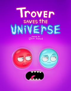 Jaquette de Trover Saves the Universe PC